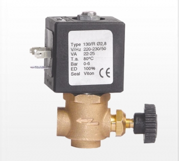 2/2 way brass solenoid valve ZCQ-130