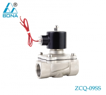 2/2 way  Stainless steel solenoid valve ZCQ-09SS
