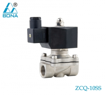 2/2 WAY STAINLESS STEEL MEGNETIC VALVE ZCQ-10SS