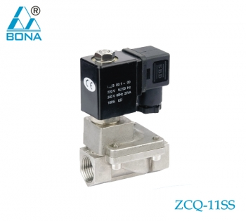 2/2 WAY STAINLESS STEEL SOLENOID VALVE ZCQ-11SS