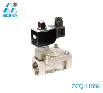 2/2 WAY  STAINLESS STEEL MEGNETIC VALVE ZCQ-11SSK