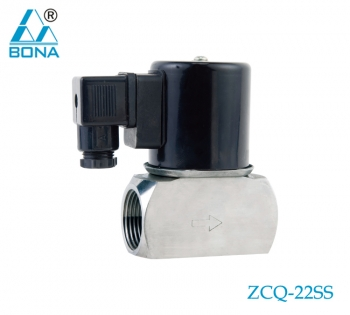2/2 WAY STAINLESS STEEL MEGNETIC VALVE ZCQ-22SS