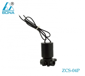 2/2 WAY NYLON SOLENOID VALVE  ZCS-04P