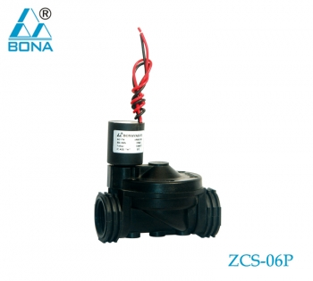 2/2 WAY NYLON SOLENOID VALVE ZCS-06P