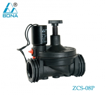 2/2 way Nylon small solenoid valve ZCS-08P