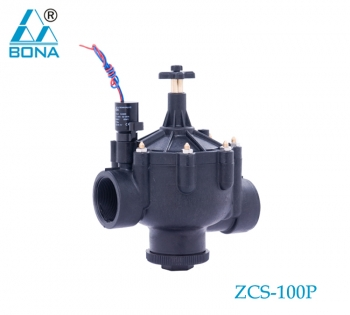 2/3 WAY COIL NYLON MAGNETIC VALVE ZCS-100P