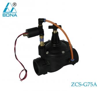 Nylon megnetic valve ZCS-G75A