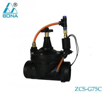 Nylon solenoid valve ZCS-G75C