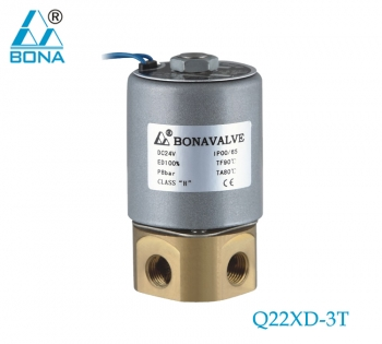 2/3 way brass megnetic valve Q22XD-3T