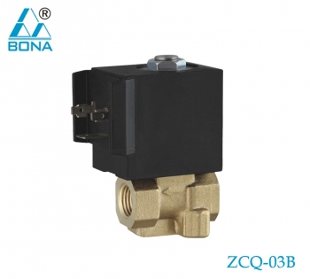 2/2 WAY BRASS SOLENOID VALVE ZCQ-03B