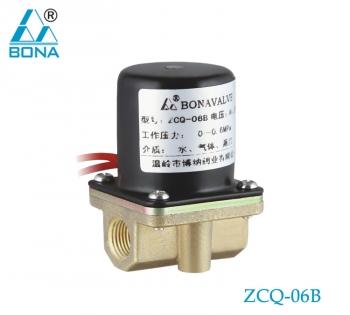 2/2 way N.C. Aluminum solenoid valve ZCQ-06B