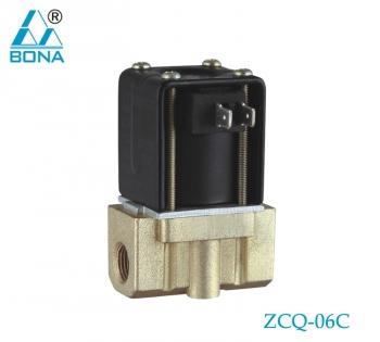 2/2 way Aluminum N.C. megnetic valve ZCQ-06C