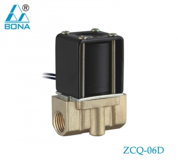 2/2 WAY BRASS SOLENOID VALVE ZCQ-06D