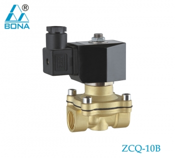 2/2 WAY BRASS SOLENOID VALVE ZCQ-10B