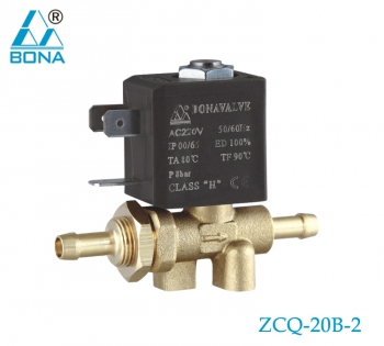 2/2 WAY BRASS SOLENOID VALVE ZCQ-20B-2