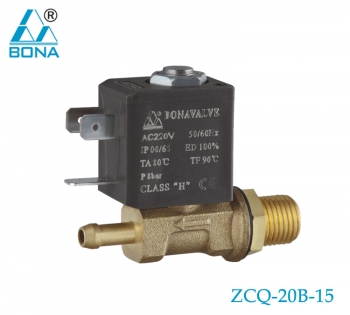 2/2 WAY BRASS MEGNETIC VALVE ZCQ-20B-15