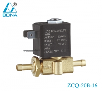 2/2 WAY BRASS MEGNETIC VALVE ZCQ-20B-16