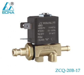 2/2 WAY BRASS MEGNETIC VALVE ZCQ-20B-17