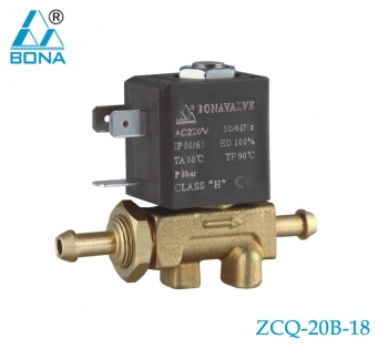 2/2 WAY BRASS MEGNETIC VALVE ZCQ-20B-18