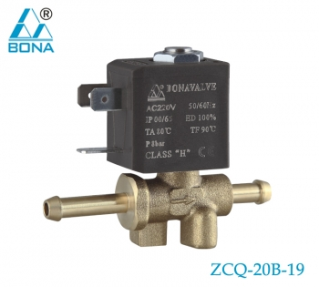 2/2 WAY BRASS SOLENOID VALVE ZCQ-20B-19