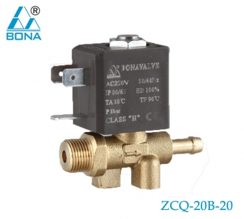 2/2 WAY BRASS MEGNETIC VALVE ZCQ-20B-20