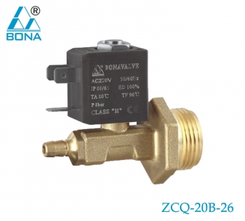 2/2 WAY BRASS SOLENOID VALVE ZCQ-20B-26