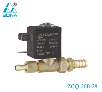 2/2 WAY BRASS MEGNETIC VALVE ZCQ-20B-28