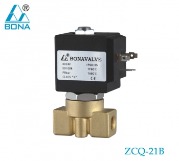 2/2 WAY BRASS SOLENOID VALVE ZCQ-21B