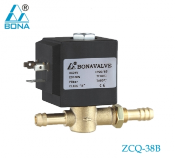 2/2 WAY BRASS MEGNETIC VALVE ZCQ-38B