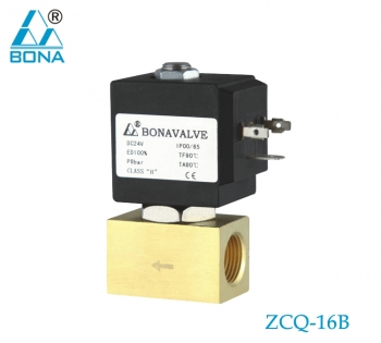 2/2 way brass solenoid valve ZCQ-16B