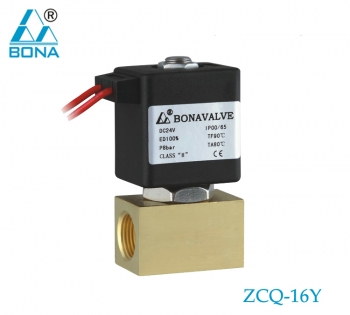 2/2 way brass megnetic valve ZCQ-16Y
