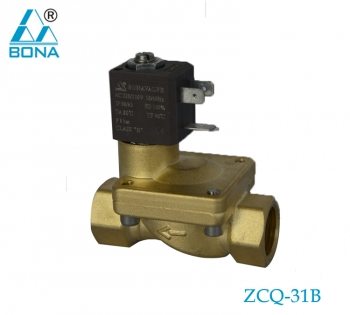 2/2 way brass solenoid valve ZCQ-31B