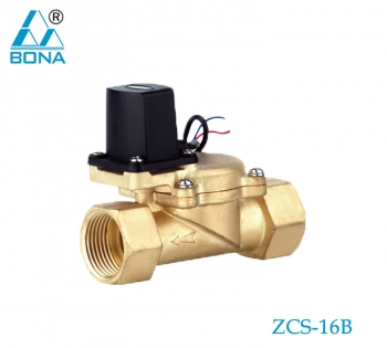 2/2 WAY PLASTIC MEGNETIC VALVE ZCS-16B