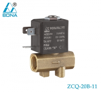 2/2 way brass solenoid valve ZCQ-20B-11