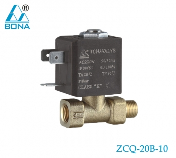 2/2 WAY BRASS SOLENOID VALVE ZCQ-20B-10