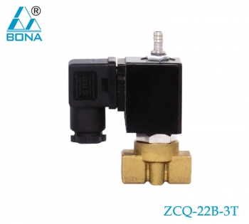 2/3 way brass megnetic valve ZCQ-22B-3T