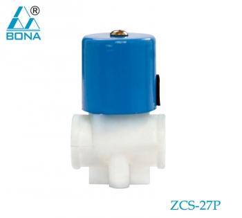 2/2 WAY PLASTIC SOLENOID VALVE ZCS-27P