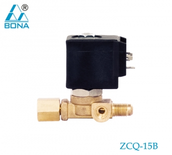 2/2 WAY BRASS SOLENOID VALVE ZCQ-15B