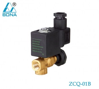 2/2 way brass solenoid valve ZCQ-01B