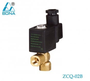 2/2 WAY BRASS SOLENOID VALVE ZCQ-02B