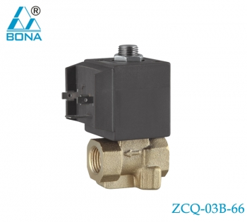 2/2 WAY BRASS SOLENOID VALVE ZCQ-03B-66