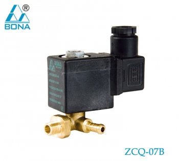2/2 WAY BRASS SOLENOID VALVE ZCQ-07B