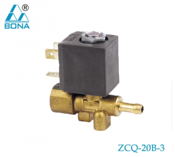 2/2 WAY BRASS SOLENOID VALVE ZCQ-20B-3