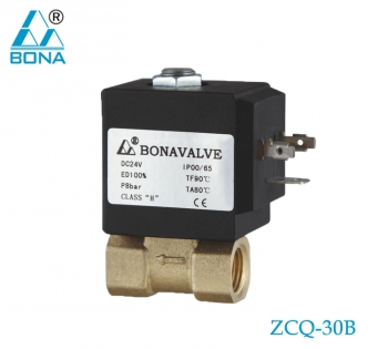 2/2 WAY BRASS SOLENOID VALVE ZCQ-30B