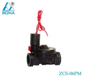 2/2 WAY NYLON MAGNETIC VALVE ZCS-06PM