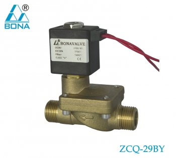 2/2 way Brass N.C. megnetic valve ZCQ-29Y