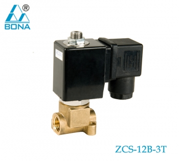 2/3 WAY NYLON MAGNETIC VALVE ZCS-12B-3T