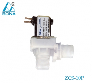 2/2 way Plastic megnetic valve ZCS-10P