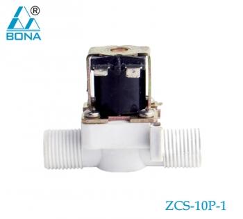 2/2 WAY PLASTIC SOLENOID VALVE ZCS-10P-1