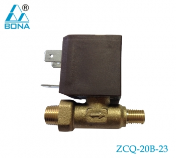 2/2 WAY BRASS SOLENOID VALVE  ZCQ-20B-23